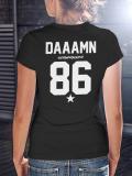 A Damn /// Special  /// WOMEN BLACK SHIRT