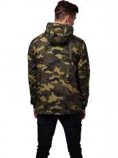 Urban /// Camo Pull Over Windbreaker