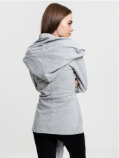 Urban///  Ladies Hooded Sweat Cardigan