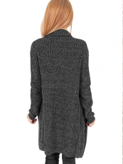 Urban /// Ladies Knitted Long Cape