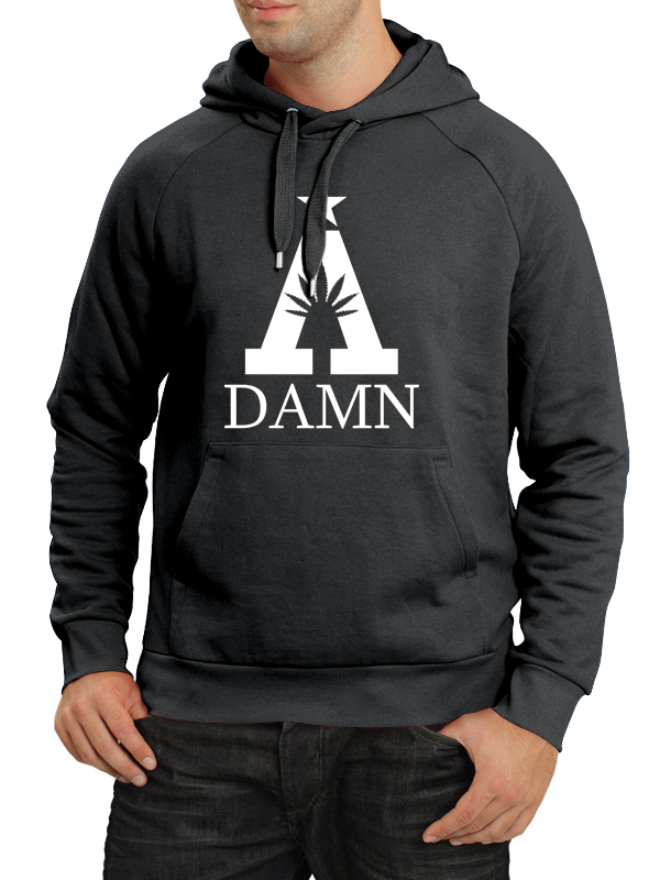 A Damn /// Special  /// HOODIE BLACK