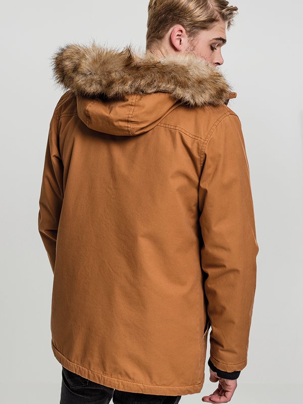 Urban /// Heavy Cotton Imitation Fur Parka