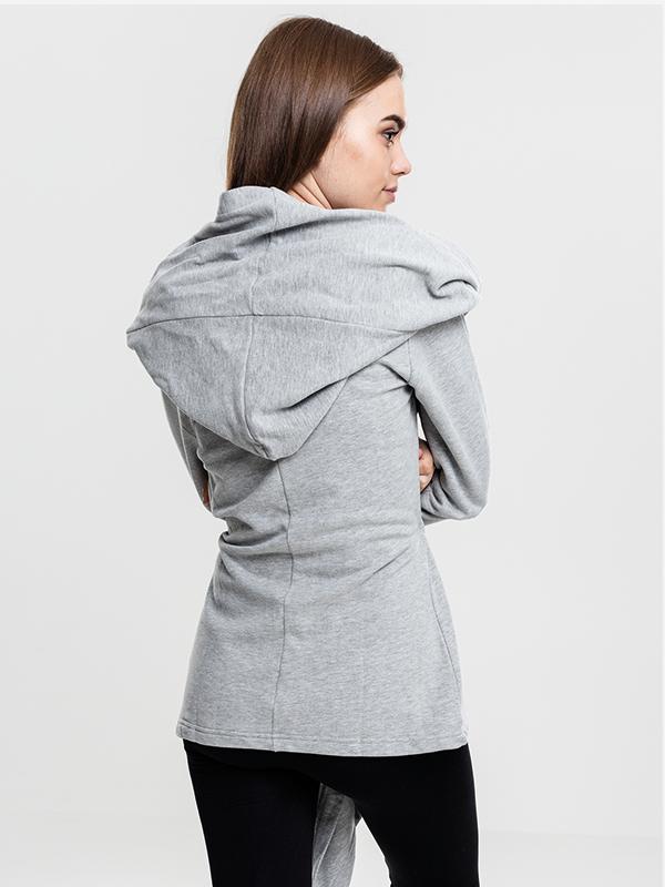 Urban///  Ladies Hooded Sweat Cardigan