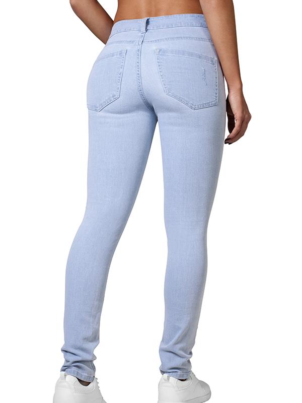Urban /// Ladies High Waist Skinny Denim Pants