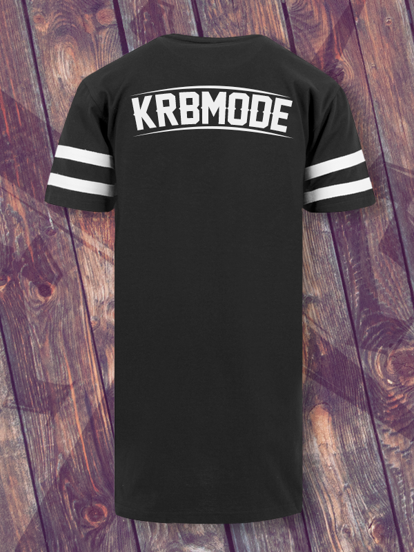 KRBxIKRZ /// 2FACE /// STRIPE BLACKSHIRT