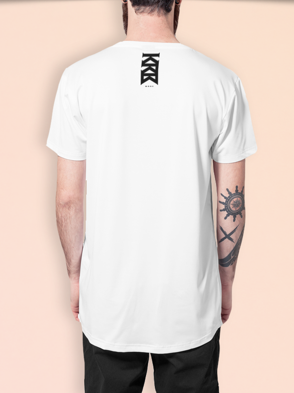 KRBxIKRZ /// MONEY /// LONG WHITESHIRT