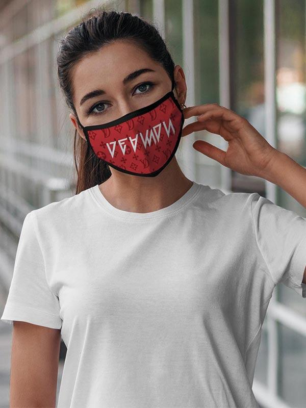 DEAMON |RED DAVINCI | Gesichtsmaske