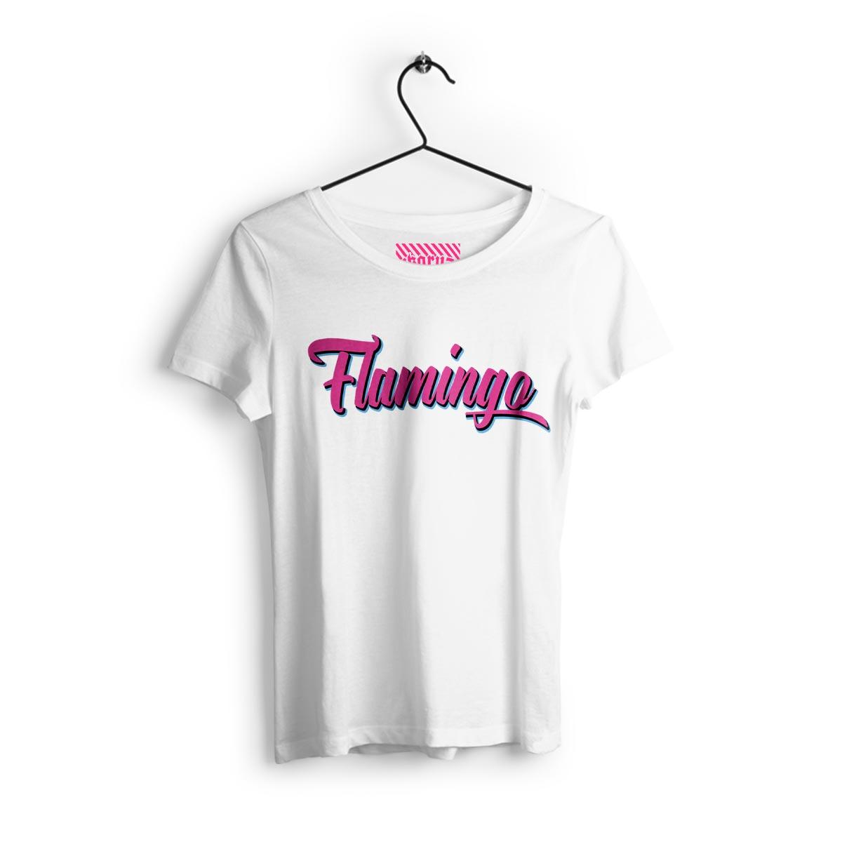 IKRZ | FLAMINGO | GIRLS WHITE SHIRT