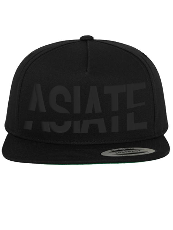 Der Asiate /// ASIATE /// Snapback /// schwarz