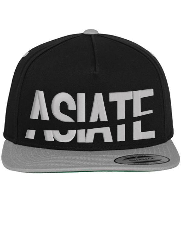 Der Asiate /// ASIATE /// Snapback /// grau