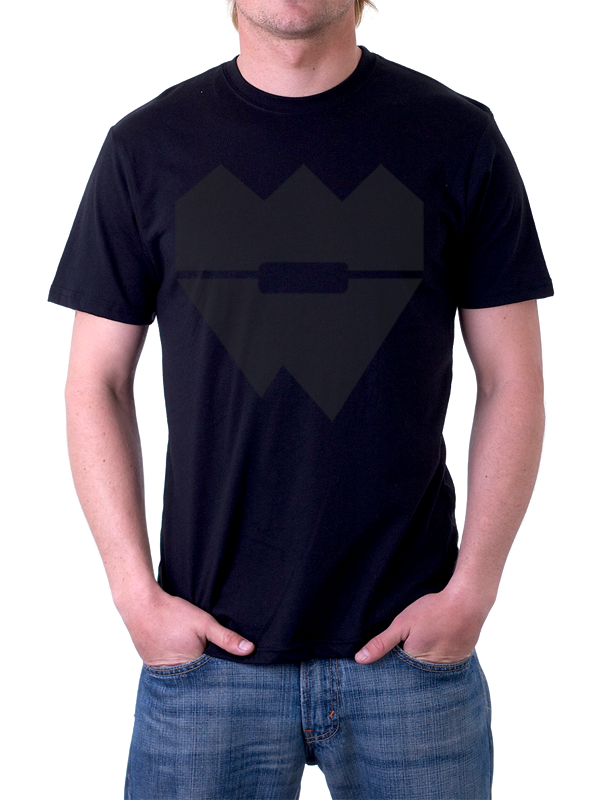 40CRWNS /// BASIC SHIRT /// BLACK
